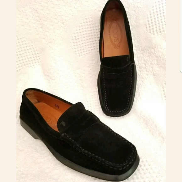 Complete Price Womens Tods Low Heel Penny Loafers Various Sizes